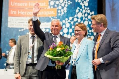 Thomas Strobl mit großer Mehrheit als Landesvorsitzender bestätigt