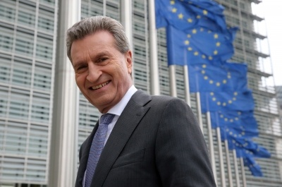 Interview mit EU-Kommissar Günther H. Oettinger